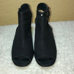 BLACK PAUL GREEN BOOTIES SIZE 6